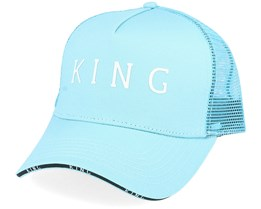 Stepney Curved Mint Trucker - King Apparel