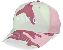 Aldgate Curve Peak Blush Camo Adjustable - King Apparel