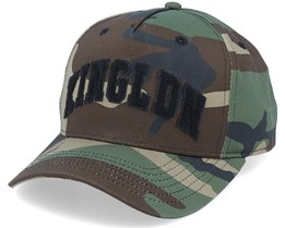 Blackwall Varsity Camo/Black Adjustable - King Apparel