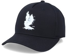 Hoxton Curve Cap Black Adjustable - King Apparel
