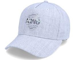 Bethnal Curved Peak Stone Adjustable - King Apparel