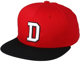 Westdale Red/White/Black Snapback - Dickies