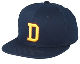 Westdale Navy Blue/Yellow Snapback - Dickies