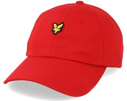 Baseball Cap Poppy Adjustable - Lyle & Scott