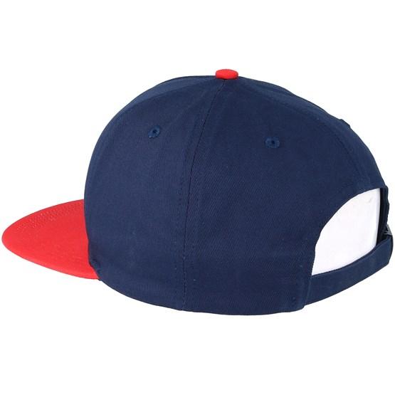 1922691877027a Colour Block Baseball Dark Navy Snapback - Lyle & Scott caps -  Hatstoreworld.com