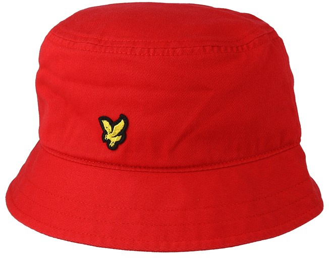 34b36812c3e Cotton Twill Poppy Bucket - Lyle   Scott hats