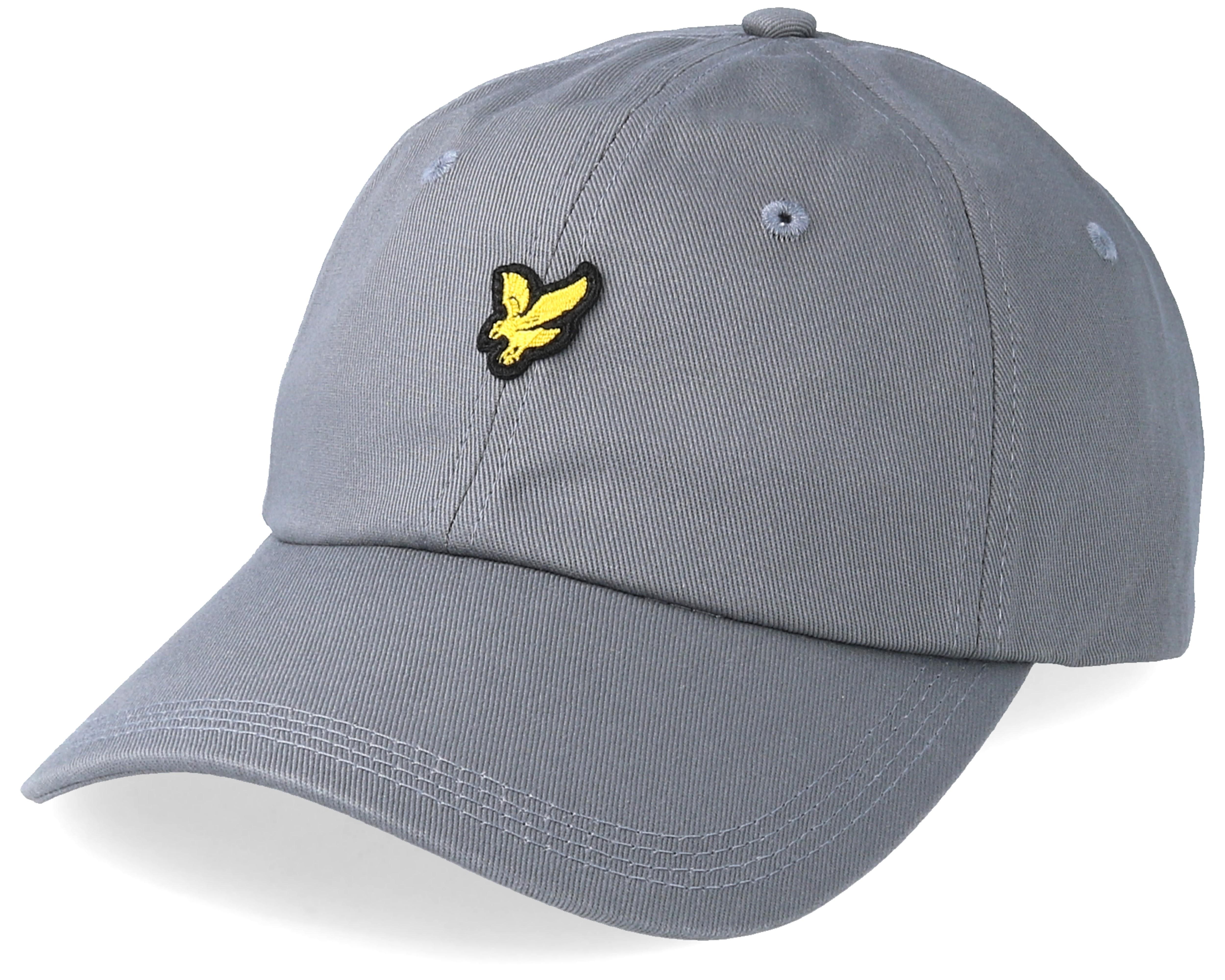 sklep internetowy ogromny wybór dostępny Cotton Twill Baseball Cap Urban Grey Adjustable - Lyle & Scott
