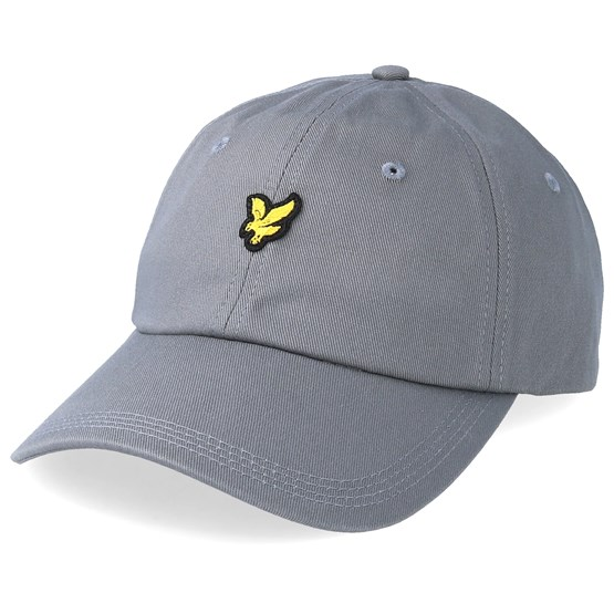 Cotton Twill Baseball Cap Urban Grey Adjustable - Lyle   Scott caps ... b5a5bdd1b359