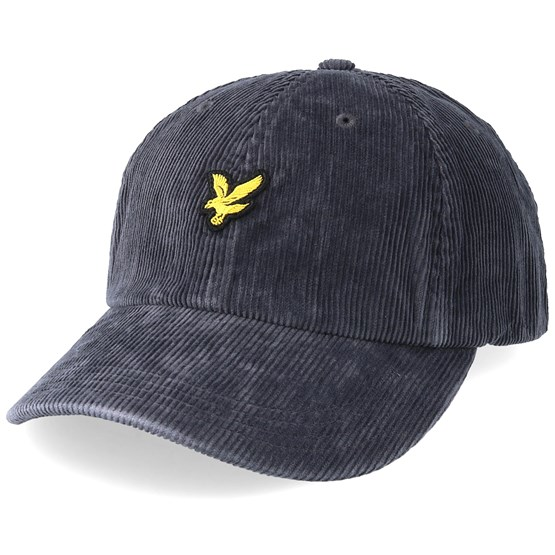 Keps Jumbo Cord Urban Grey Adjustable - Lyle & Scott - Grå Reglerbar
