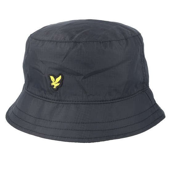 Hatt Ripstop True Black Bucket - Lyle & Scott - Svart Bucket