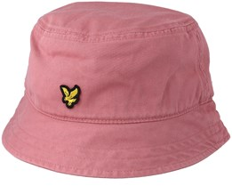Washed Twill Pink Shadow Bucket - Lyle & Scott