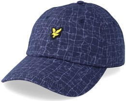Pool Print Baseball Navy Pool Print Adjustable - Lyle & Scott