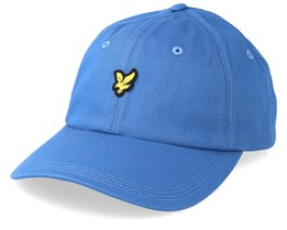 Cotton Twill Baseball Cap Lapis Blue Adjustable - Lyle & Scott