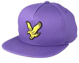 Eagle Cap Violet Strapback - Lyle & Scott