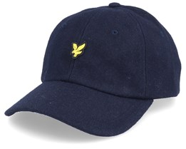 Wollen Cap Dark Navy Adjustable - Lyle & Scott