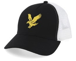 True Black/White Trucker - Lyle & Scott