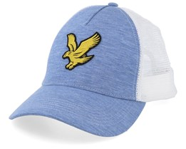 Stone Blue/White Trucker - Lyle & Scott