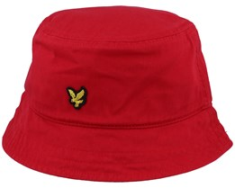 Cotton Twill Gala Red Bucket  - Lyle & Scott