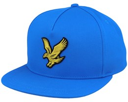 Eagle Cap Bright Royal Blue Strapback - Lyle & Scott