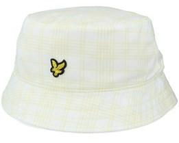 Reversable Check White/Lemon Bucket - Lyle & Scott
