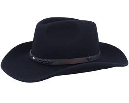Comanche Black Cowboy Hat - Jaxon & James