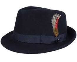 Detroit Black Trilby Hat - Jaxon & James