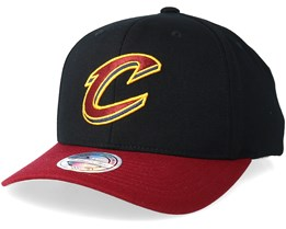 Cleveland Cavaliers 2 Tone Black/Marron 110 Adjustable - Mitchell & Ness