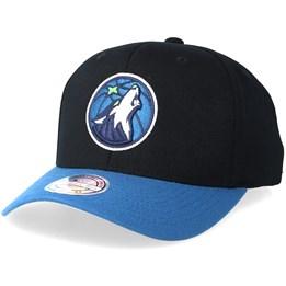 46ab9d26 Mitchell & Ness Minnesota Timberwolves 2 Tone Black/Blue 110 Adjustable -  Mitchell & Ness AU$ 39.99