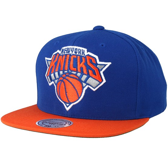 57f1e8acb New York Knicks 2 Tone Blue/Orange Snapback - Mitchell & Ness