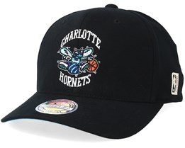 Charlotte Hornets Hwc Black 110 Adjustable - Mitchell & Ness