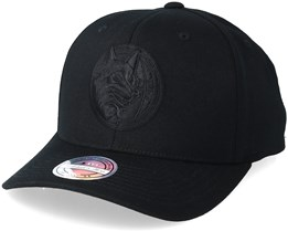 Minnesota Timberwolves Black On Black 110 Adjustable - Mitchell & Ness
