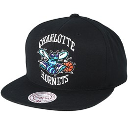 ad7a84c2b60 Almost Gone! Mitchell   Ness Charlotte Hornets Wool Solid Black Snapback -  Mitchell   Ness AU  39.99. Mitchell   Ness Houston Rockets Campus Royal ...