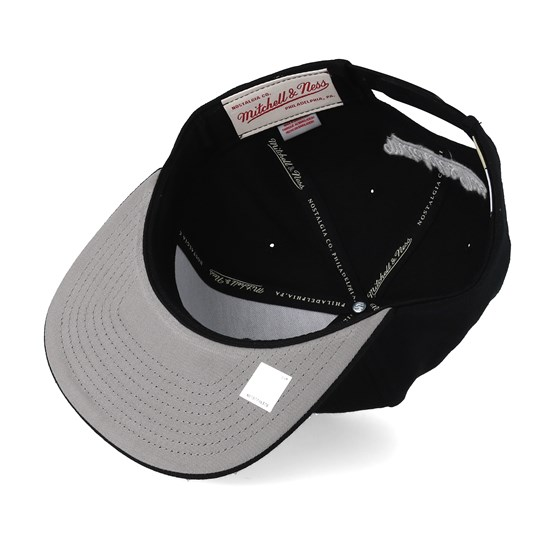 sports shoes 73af4 34ba1 Houston Rockets Wool Solid Black White Snapback - Mitchell   Ness caps    Hatstore.co.uk
