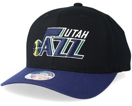 Utah Jazz 2 Tone Black/Navy Adjustable - Mitchell & Ness