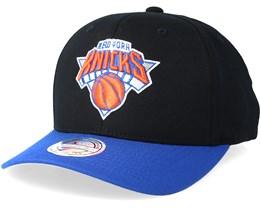 82e536de95c New York Knicks 2 Tone Black Royal 110 Adjustable - Mitchell   Ness