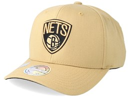 Brooklyn Nets 110 Sand Adjustable - Mitchell & Ness