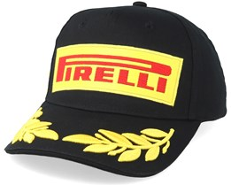 Pirelli Logo Podium Black Adjustable - Formula One