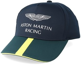 Kids Aston Martin Racing Children´s Team Cap Navy/Green Adjustable - Formula One