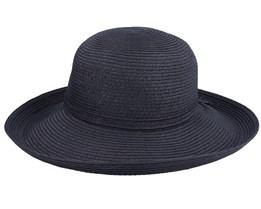 Traveller Black Sun Hat - Sur la tête
