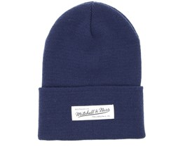 Own Brand Nostalgia Knit Navy Cuff - Mitchell & Ness