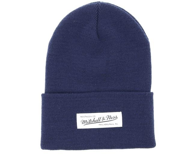 5b1b1dfe27b Own Brand Nostalgia Knit Navy Cuff - Mitchell   Ness beanies -  Hatstoreworld.com