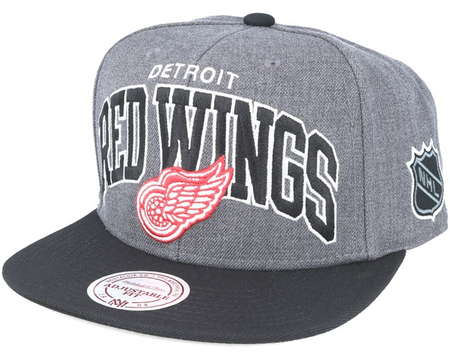 Detroit Red Wings G2 Team Arch Snapback - Mitchell   Ness - Start Gorra -  Hatstore c43350abb4d
