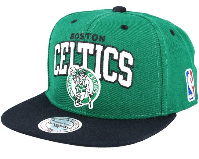 new products 95a8d 32ea0 Boston Celtics Team Arch Green Snapback - Mitchell   Ness caps ...