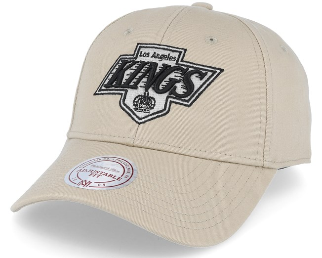 ac54c34ffa5 Los Angeles Kings Low Pro Strapback Sand Adjustable - Mitchell   Ness