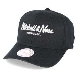 ea9082396d3 Pinscript 110 Maroon Adjustable - Mitchell   Ness cap - Hatstore.co.in