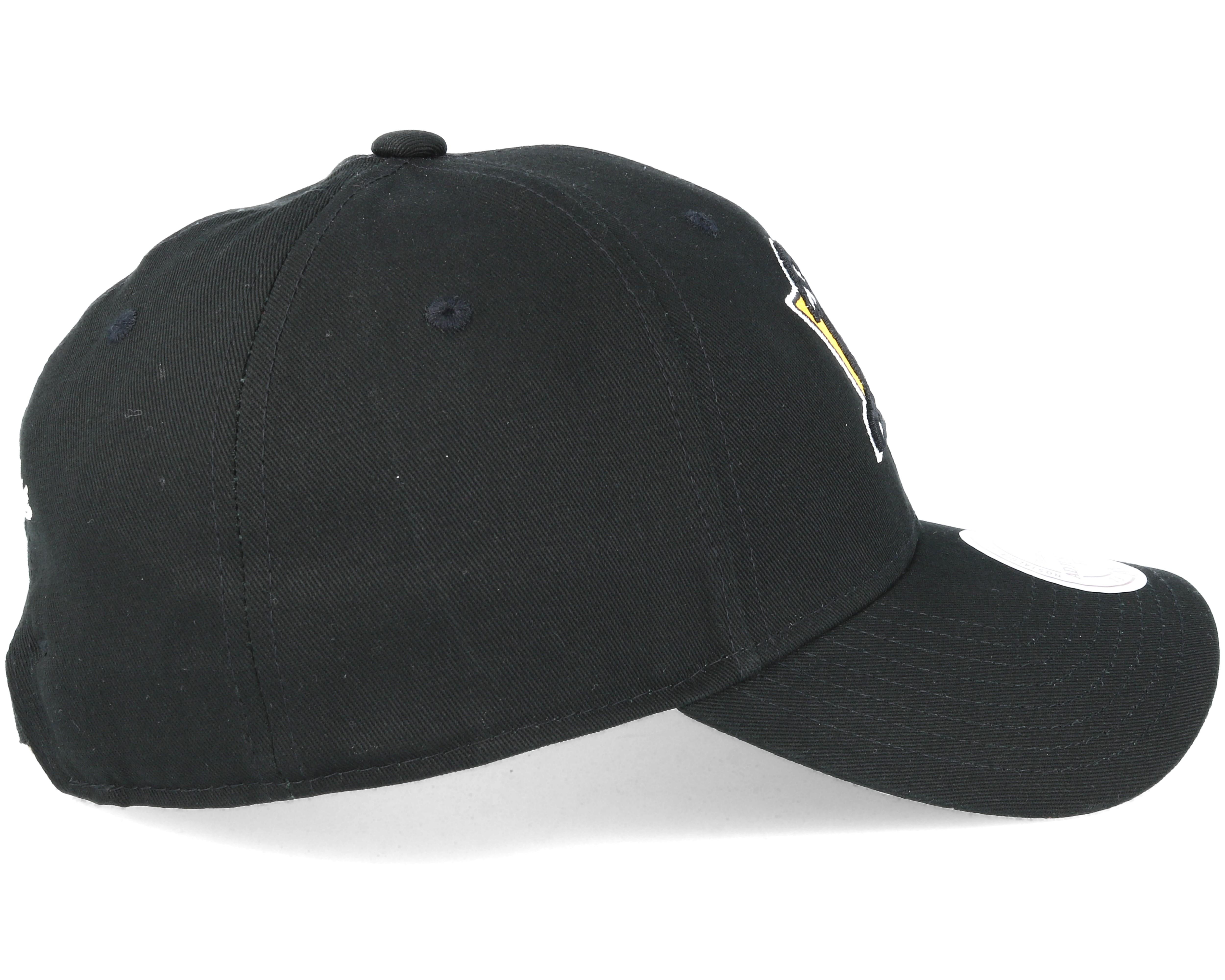 Pittsburgh Penguins Team Logo Low Pro Strapback Black