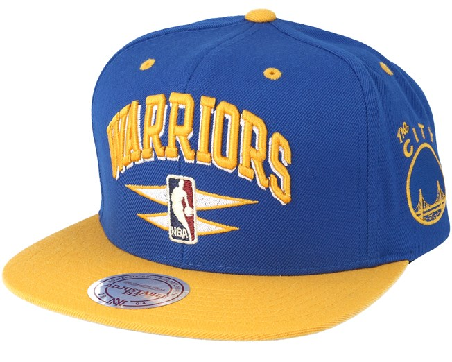 db6309b270c Golden State Warriors Double Diamond Navy Snapback - Mitchell   Ness cap -  Hatstore.co.in
