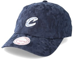 Cleveland Cavaliers Tonal 110 Camo Navy Adjustable - Mitchell & Ness