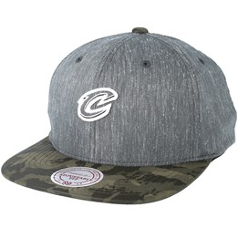 4d844acb Mitchell & Ness Cleveland Cavaliers Trench Charcoal Snapback - Mitchell &  Ness $29.99