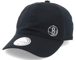 Brooklyn Nets Black Adjustable - Mitchell & Ness